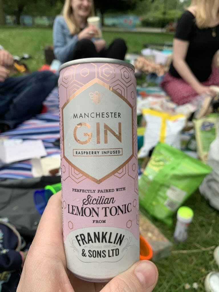 Manchester gin with Sicilian lemon tonic from Franklin & Sons