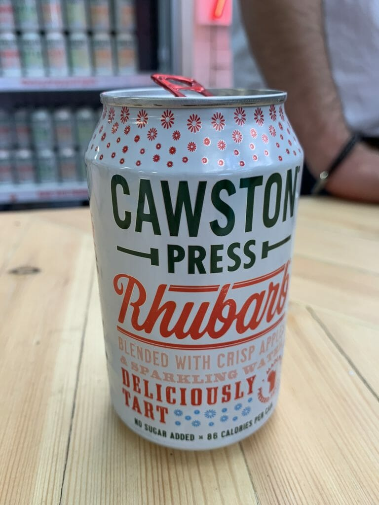 Cawston Press Rhubarb juice drink
