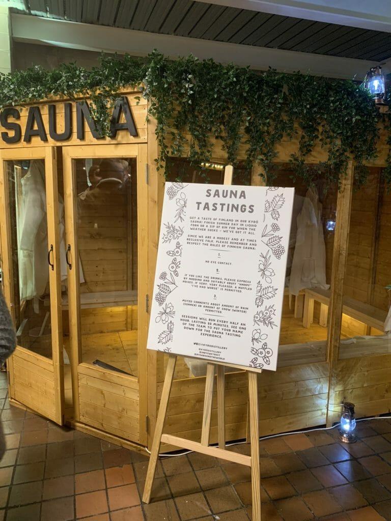 Kyro wooden sauna