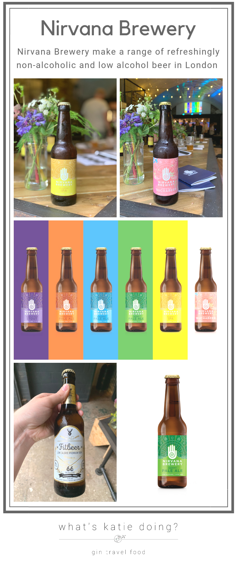 Nirvana Brewery - refreshingly low alcohol beer made in London