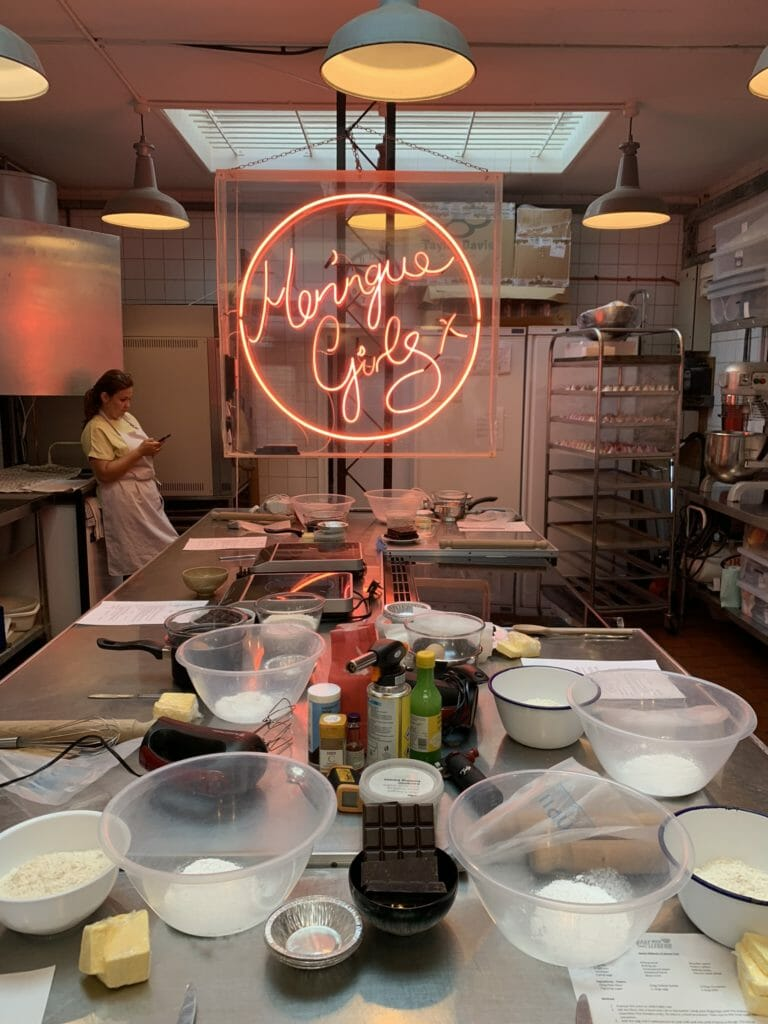 Inside the Meringue Girls kitchen