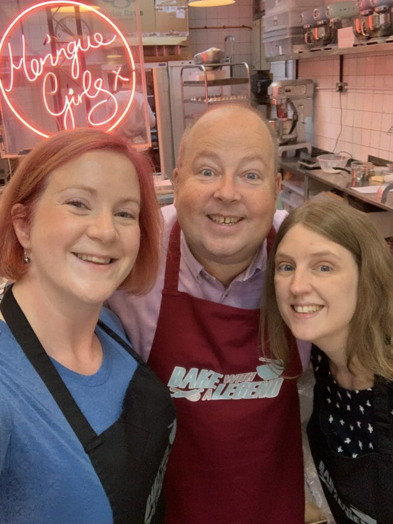 Selfie with Great British Bake Off legend James Hillary