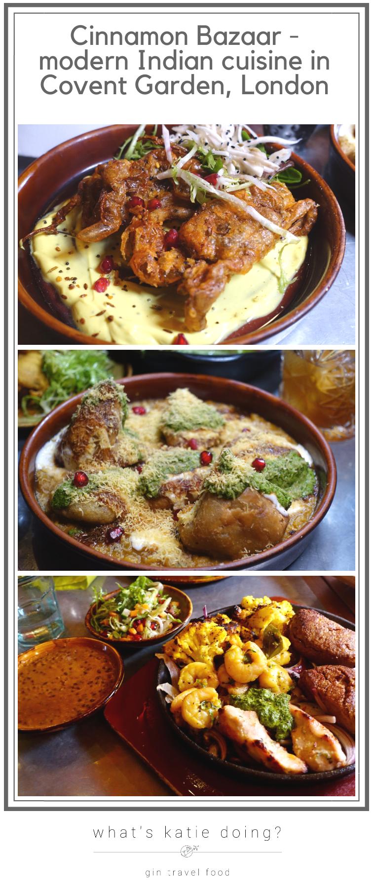 Cinnamon Bazaar restaurant review - modern Indian cuisine in Covent Garden, London
