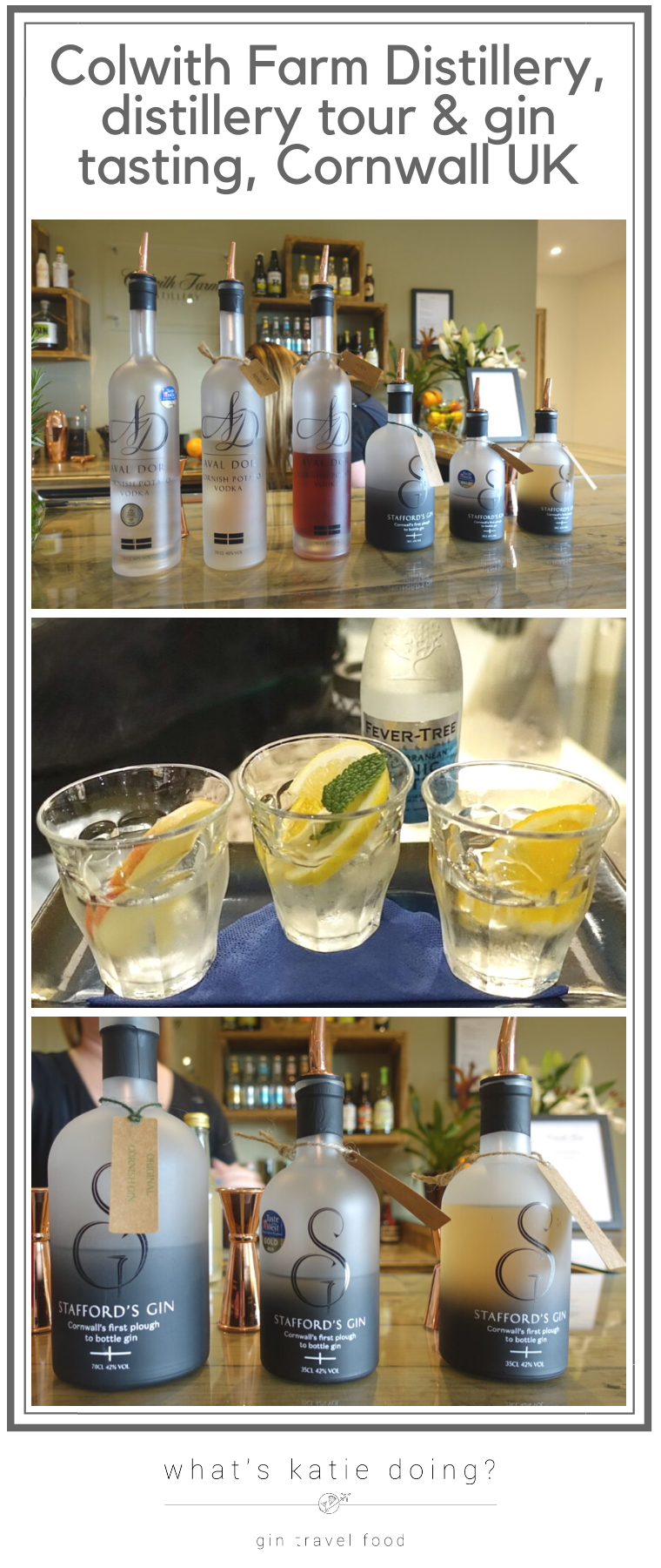 Colwith Farm Distillery tour and gin tasting, Cornwall UK