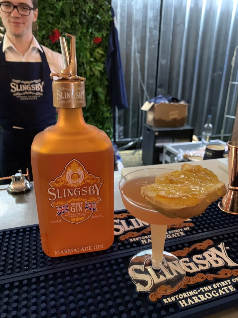 Slingsby Marmalade Gin at London Cocktail Week