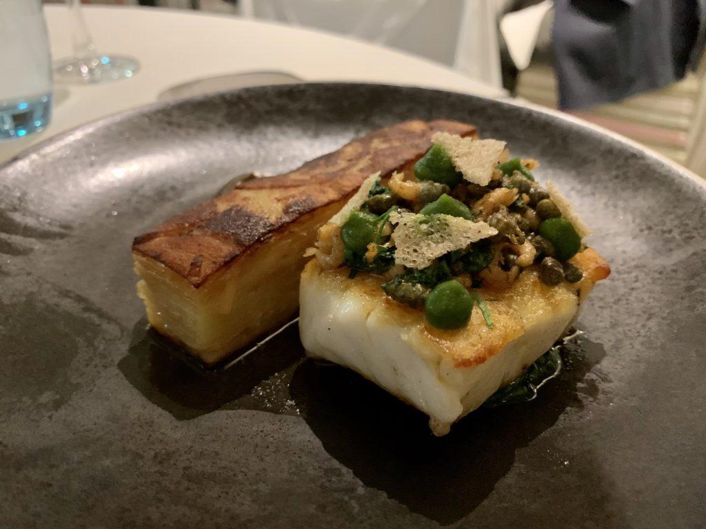 Fish and potato dish