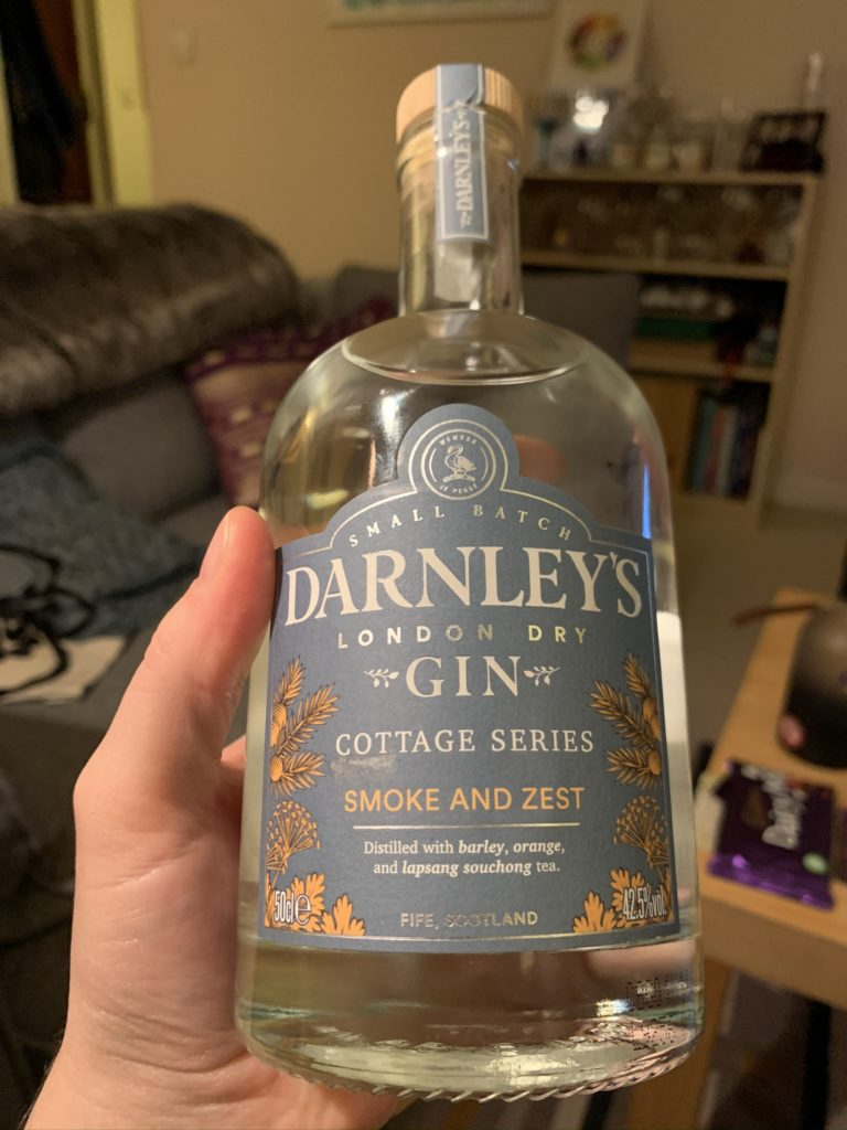 Darnley's Smoke & Zest gin