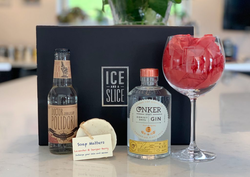 Ice and a Slice gin spa gift set