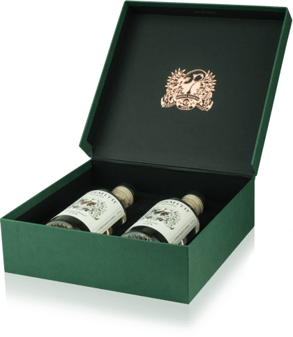 Green Sipping Service box from Sipsmith