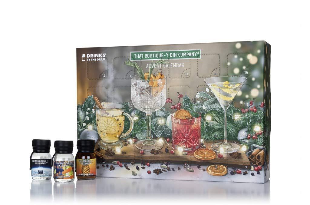 Boutique-y gin calendar