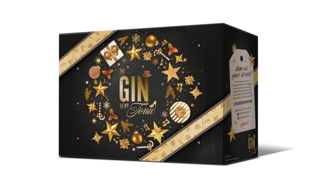 The gin to my tonic 12 days of Christmas calendar