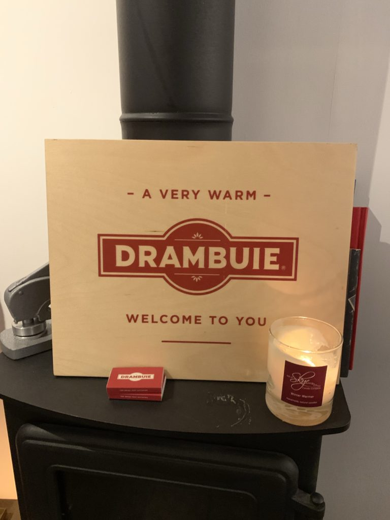 Drambuie bothy wood burning stove