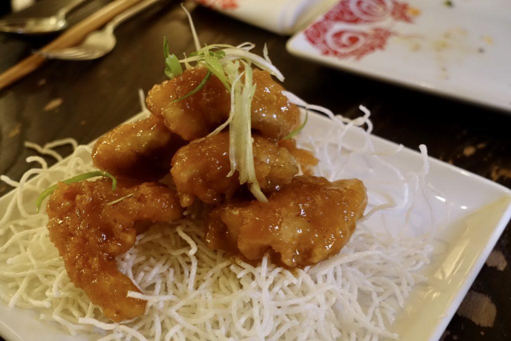 Honey Chicken at PF Changs