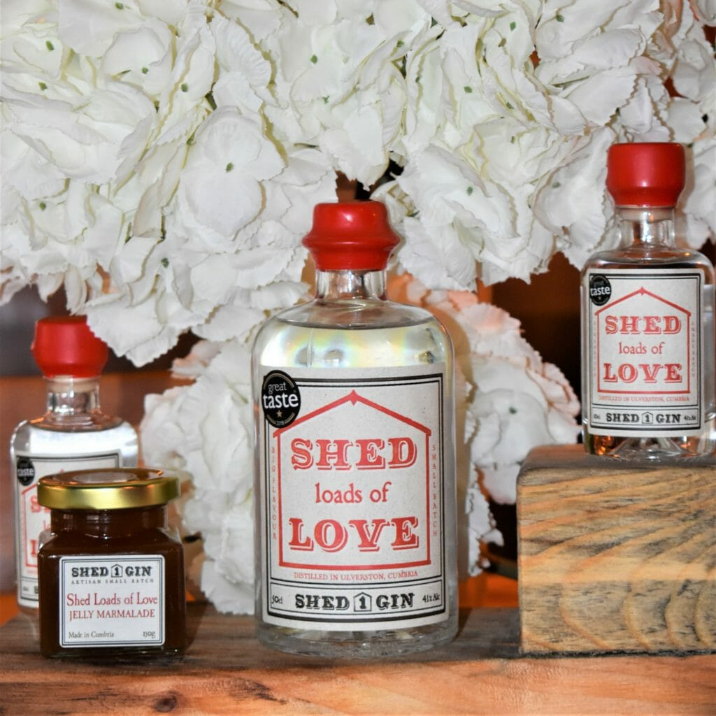 Shed loads of Love from Shed 1 Gin