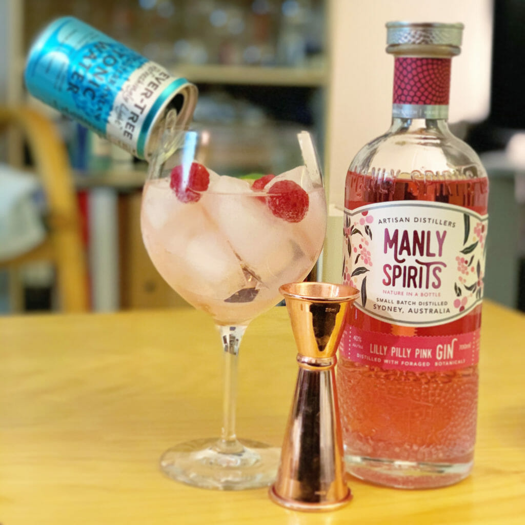 Manly Spirits Lilly Pilly perfect serve