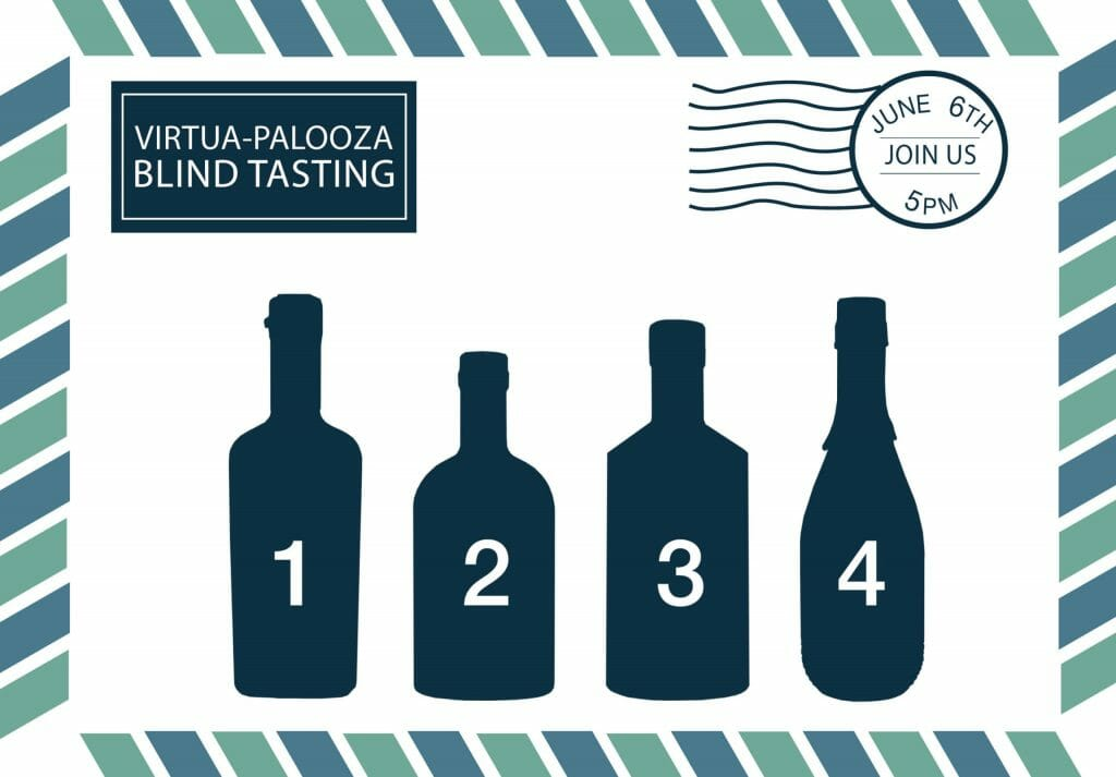 Virtual-palooza blind tasting event 6th Jun 5pm