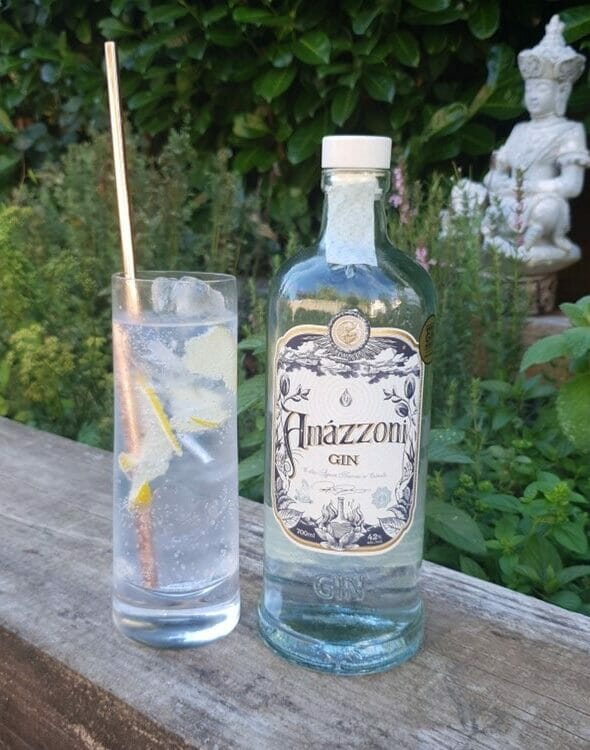 Amazzoni Collins cocktail by The Gin Lord
