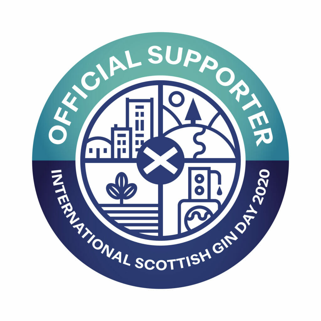 International Scottish Gin Day official supporter badge