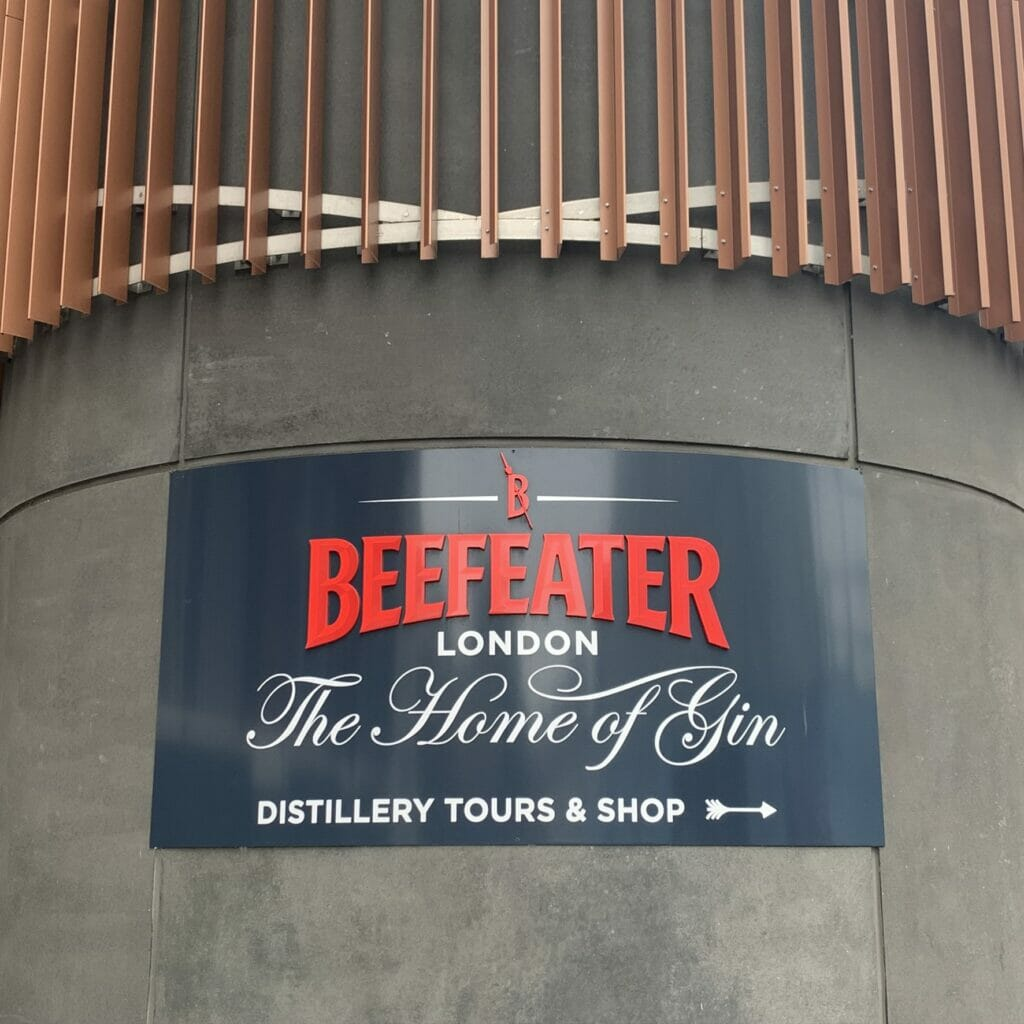 Beefeater London - The Home of Gin - distillery tours & shop