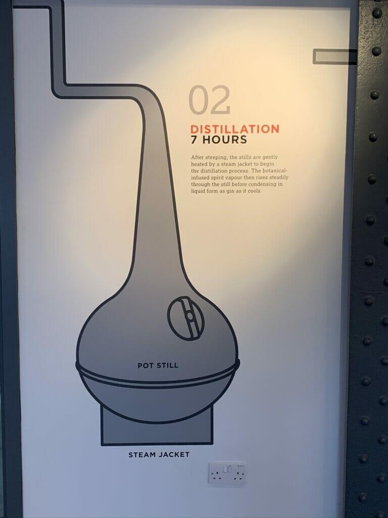 Step 2 distillation - 7 hours