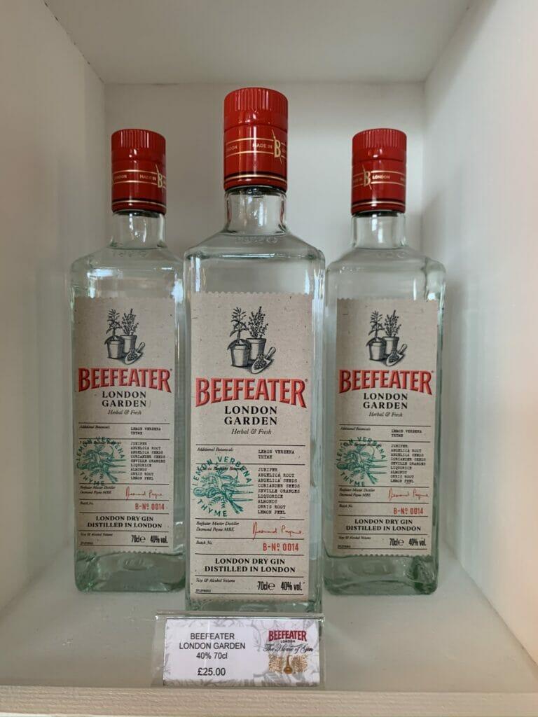 Beefeater London Garden gin - a distillery exclusive