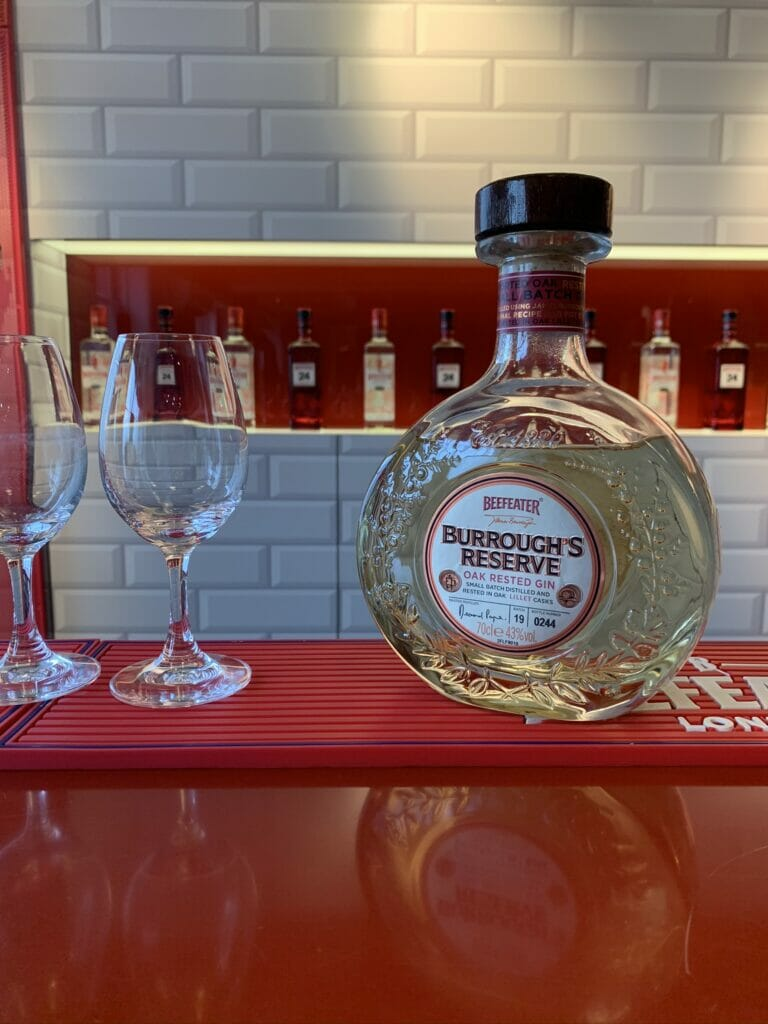Burrough's Reserve - Beefeater's aged gin