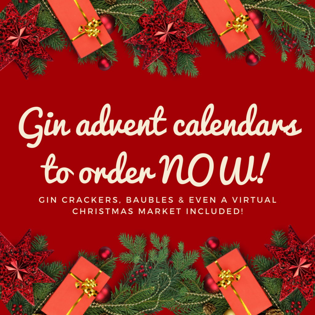 GIn advent calendars to order NOW!