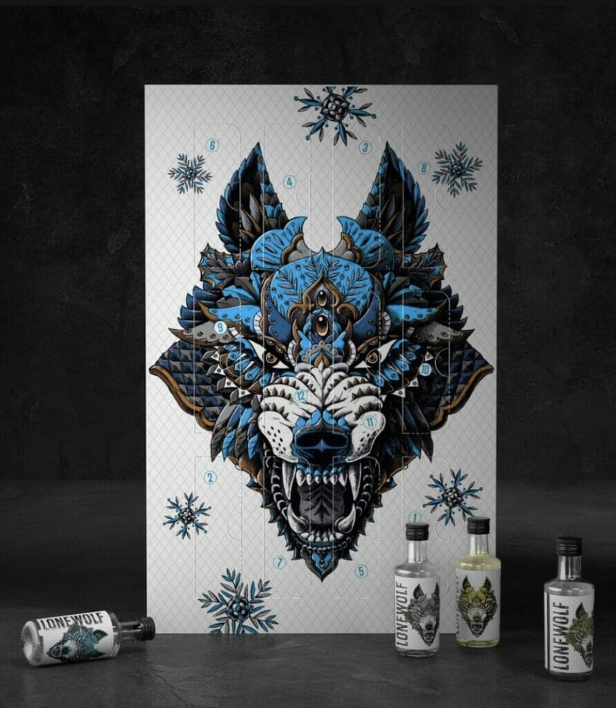 Lone Wolf 12 gins of Christmas