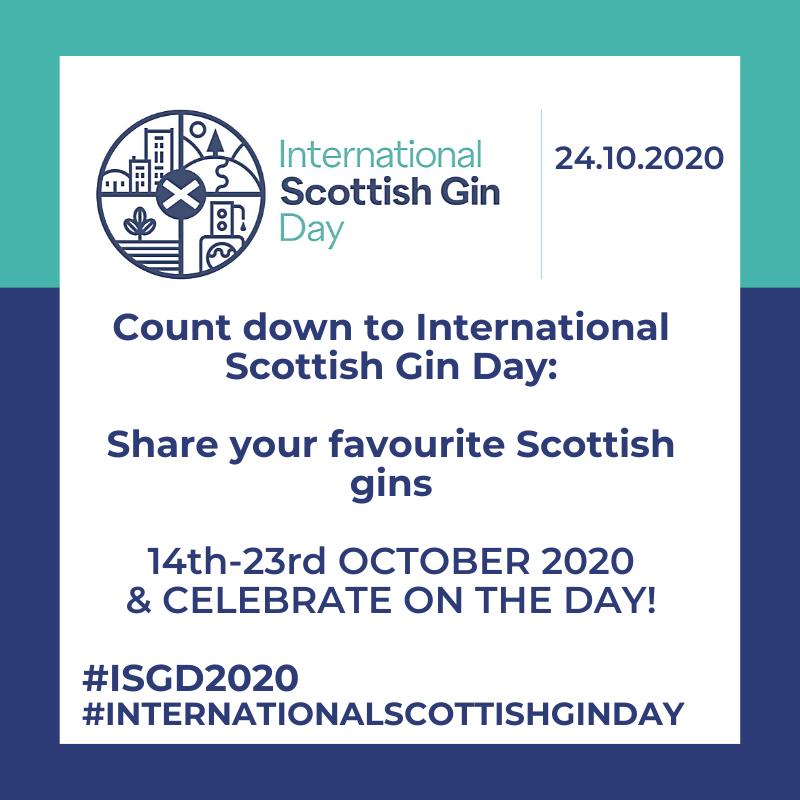 Countdown to International Scottish Gin Day 2020