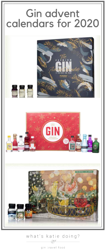 Gin advent calendars to order for Christmas 2020 NOW!