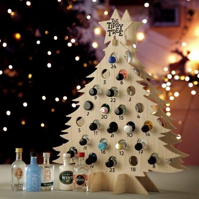 Tipsy Tree gin advent calendar
