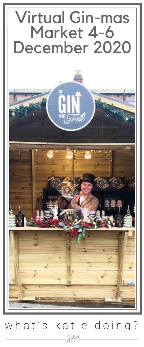 Virtual Gin-mas Market 4th-6th December 2020