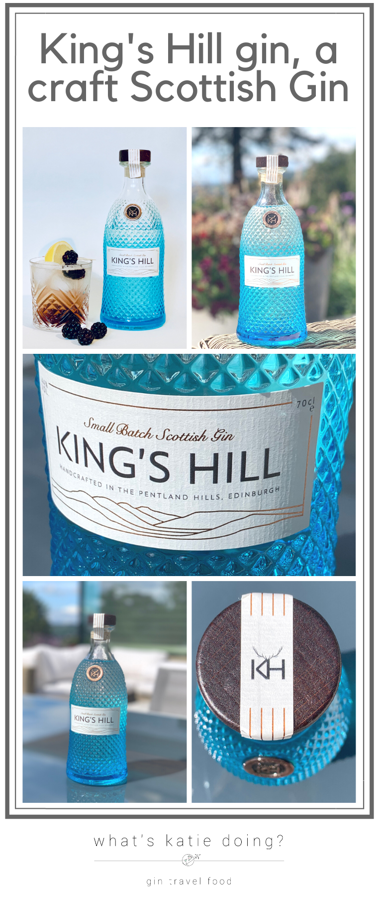 King's Hill gin a Scottish craft gin