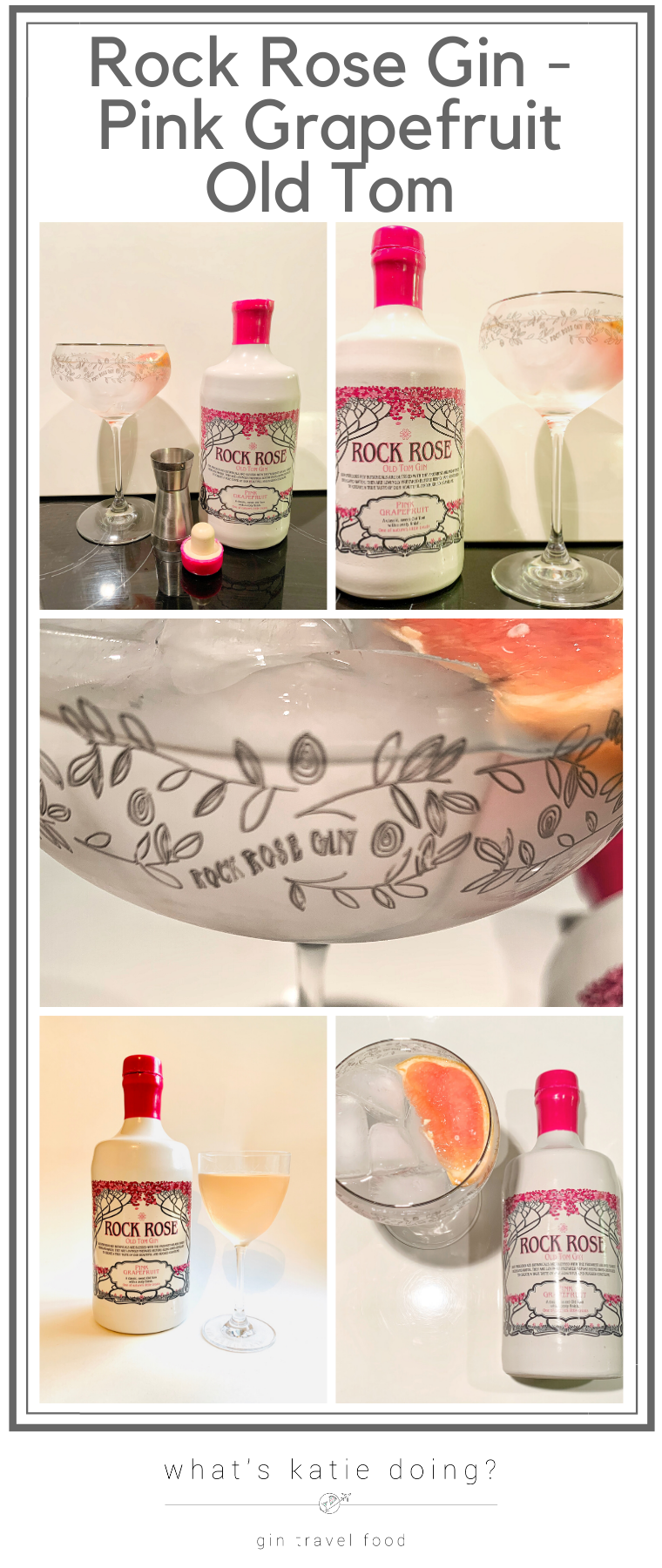 Rock Rose Gin - Pink Grapefruit Old Tom