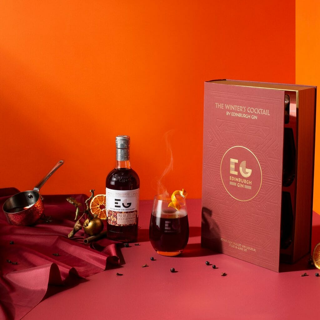 The Winters Cocktail gift set from Edinburgh Gin