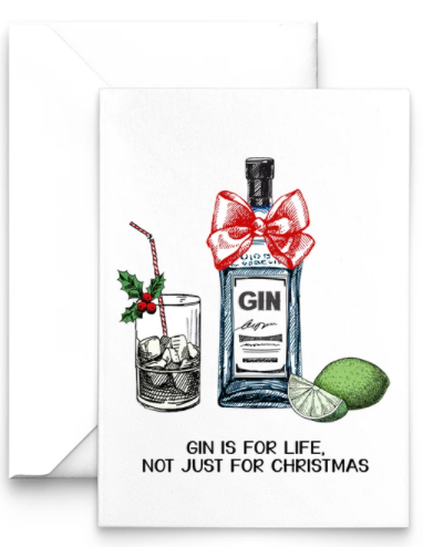 Gin is for life not just for Christmas from Of Life and Lemons