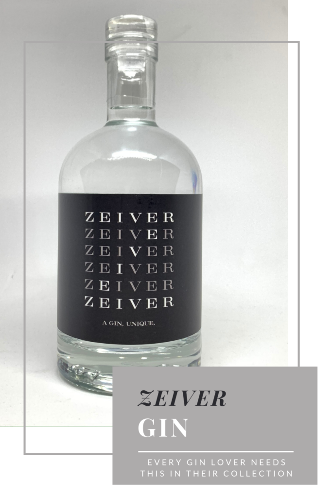 Zeiver gin - every gin lover needs this in their collection!