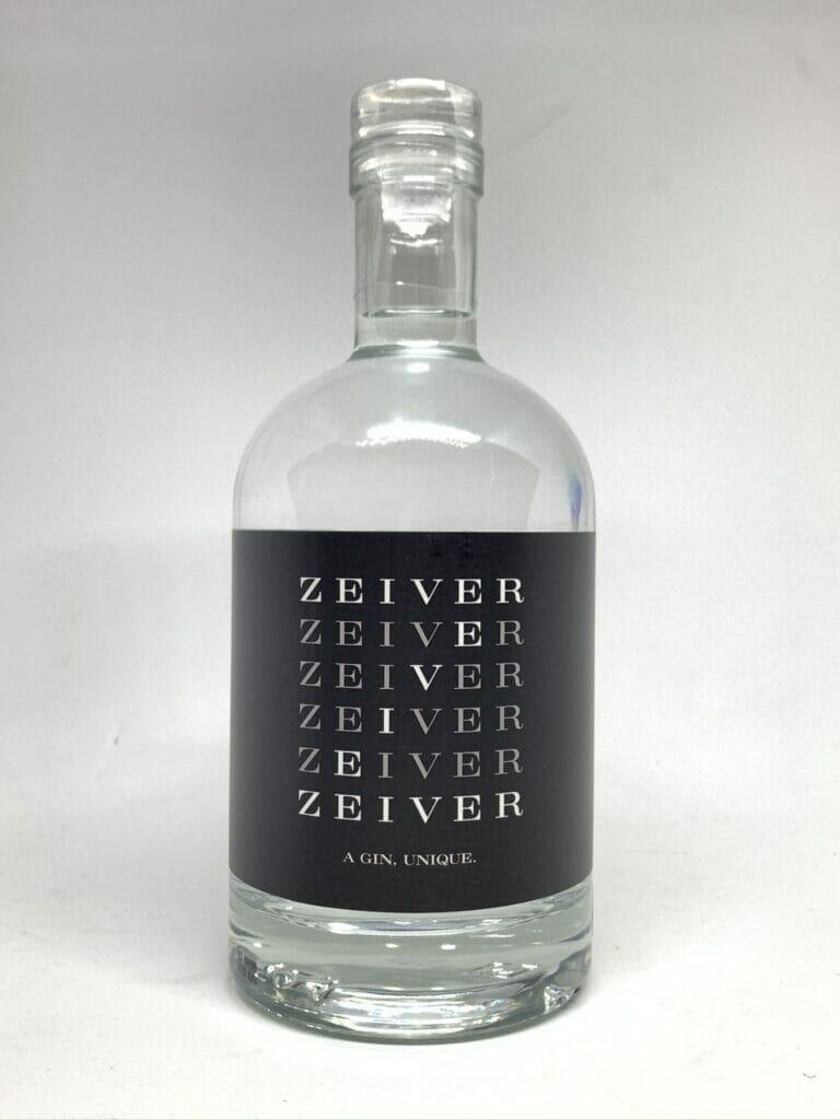 Zeiver gin - black label