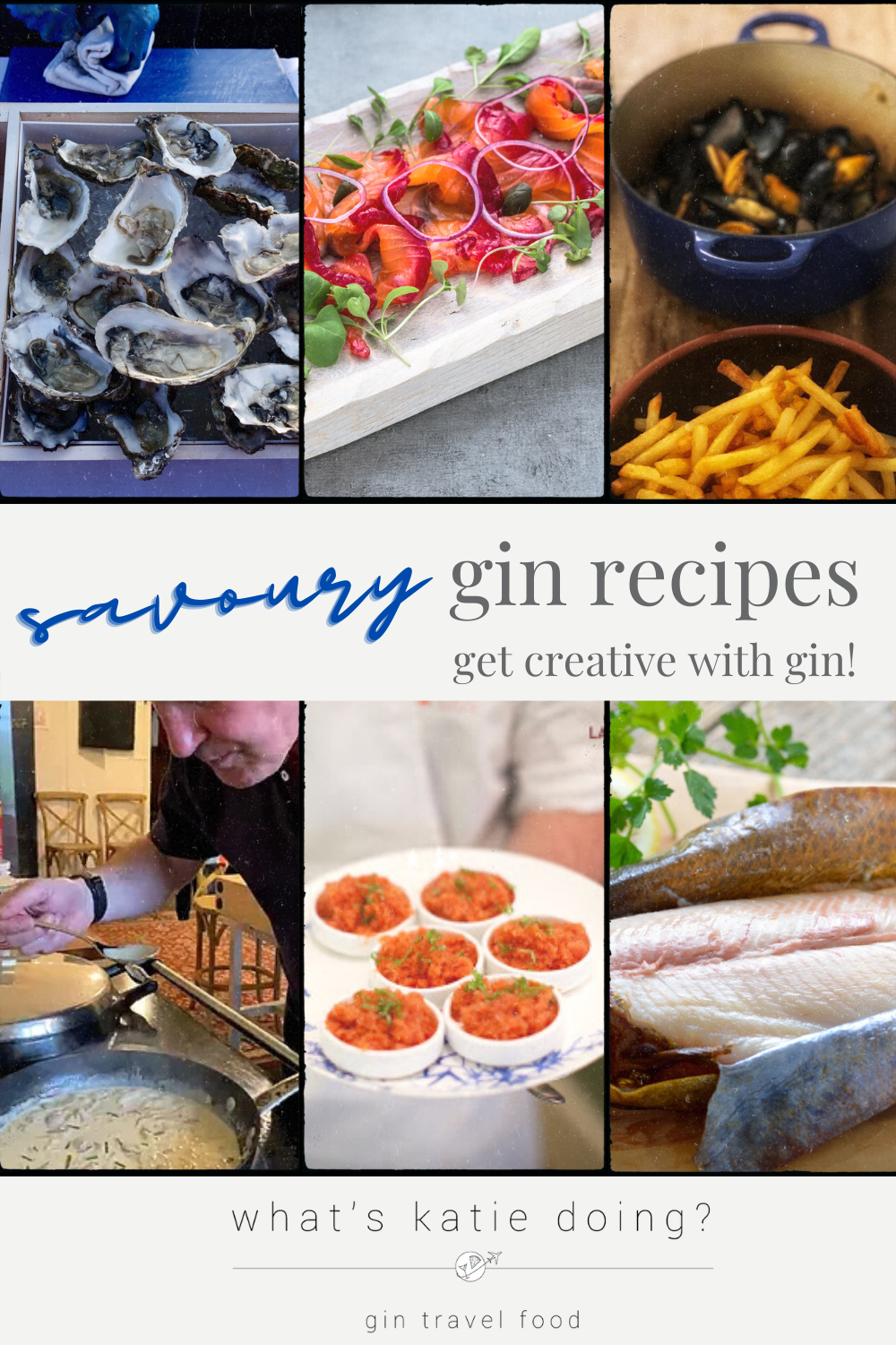 Cooking with gin: savoury edition - get creative cooking with gin