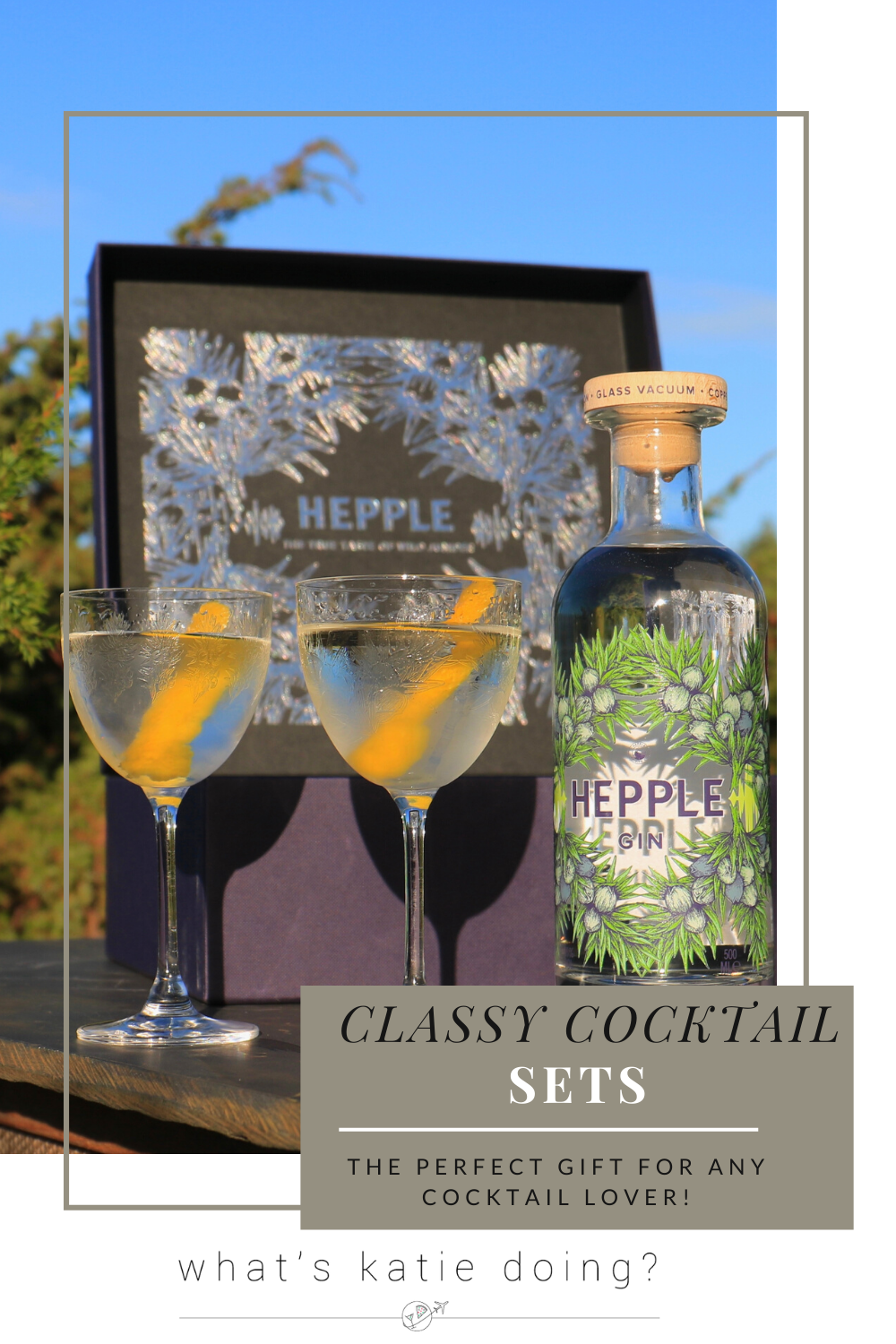 Classy Cocktail Sets - Hepple gift box