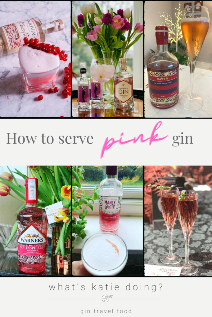How to serve pink gin